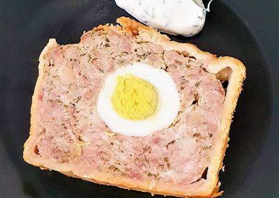 Pâté en croûte tradition Pâques Polonaise 1